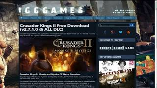 How To Download Crusader Kings 2 | Full Version & Multiplayer |