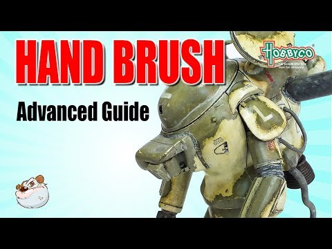 How to Brush Paint Mr Color Gunpla Ma.K Maschinen Krieger Scale Models with Lincoln Wright