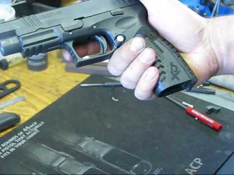 Springfield Armory XD/XDM trigger jobs by Springer Precision