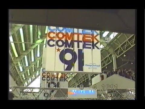 DIGITAL at COMTEK computer show, Moscow 1991