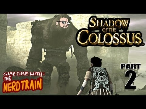 Shadow Of The Colossus - Part 2 - Second Colossus - Game Time with The Nerd Train
