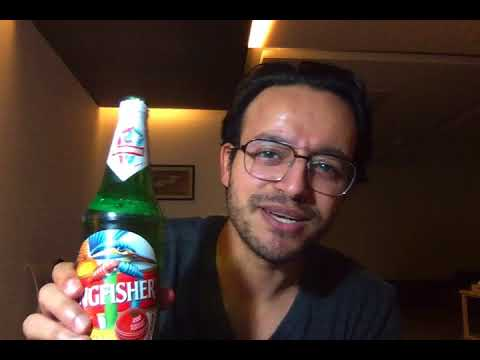 Kingfisher Beer Review In Hindi 650ML