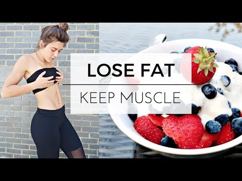 HOW I'M GETTING LEAN FOR SUMMER || WORKOUT AND DIET TO LOSE FAT AND KEEP MUSCLE