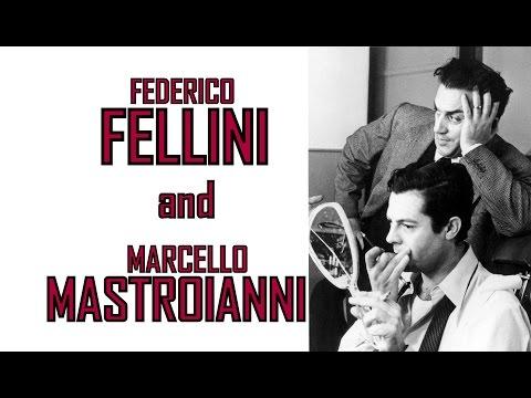 🔴 Federico Fellini And Marcello Mastroianni🔴