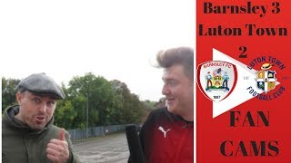 Barnsley 3 Luton Town 2 | We Were Too Good Going Forward! | Luke