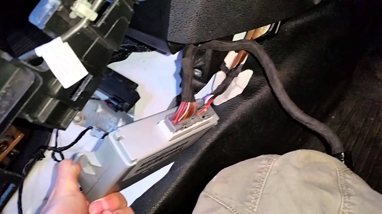 2011 2012 2013 2014 dodge charger police pursuit center console aux usb installation connections youtube [ 1280 x 720 Pixel ]