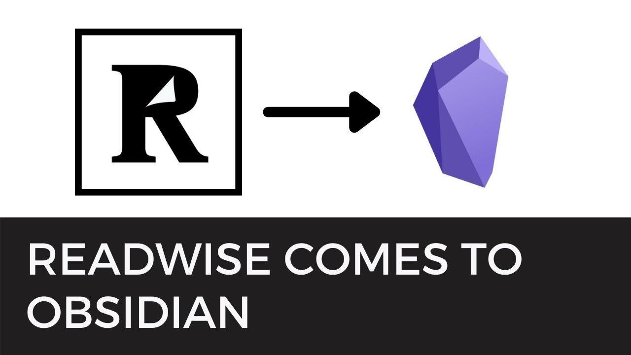 😱 Readwise + Obsidian