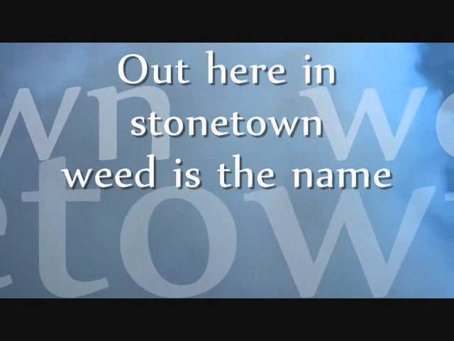 Kottonmouth Kings - Stonetown Lyrics On Screen