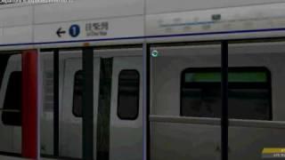 [OpenBVE] MTR K-Train On Island line(Sheung Wan to Wan chai)