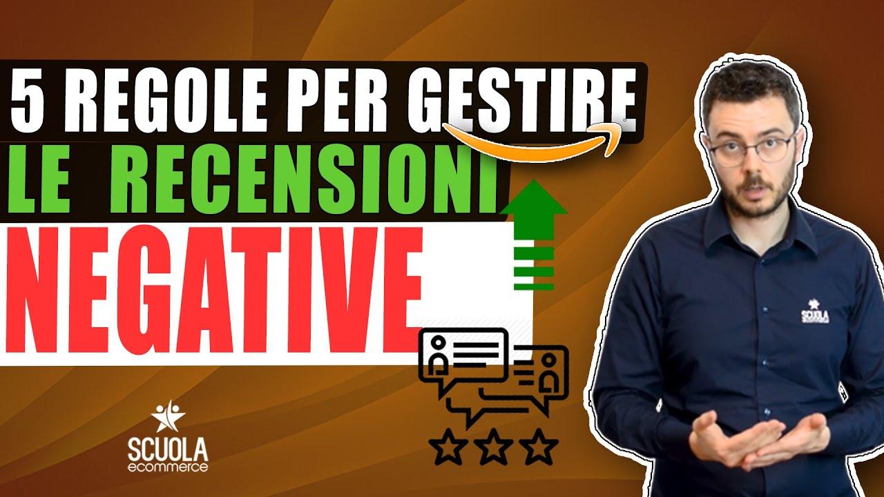 5 regole come gestire le Recensioni Negative su Amazon fba Italia