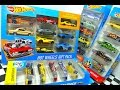 Hot Wheels Unboxing 9-Car Gift Pack, HW Flames, Speed Graphics, And Hot Trucks 5-Car Sets!
