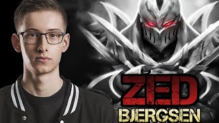 Bjergsen Montage - Best ZED Plays