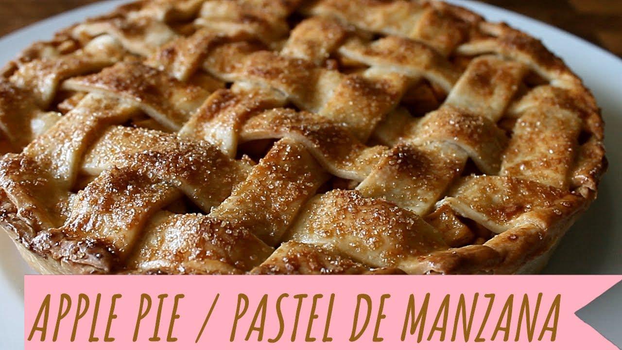 APPLE PIE/TARTA DE MANZANA