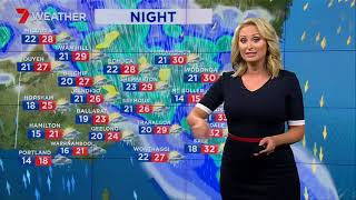 Rain for Friday to Sunday. Heaviest (in Melbourne) FRI afternoon, SAT night, early SUN.