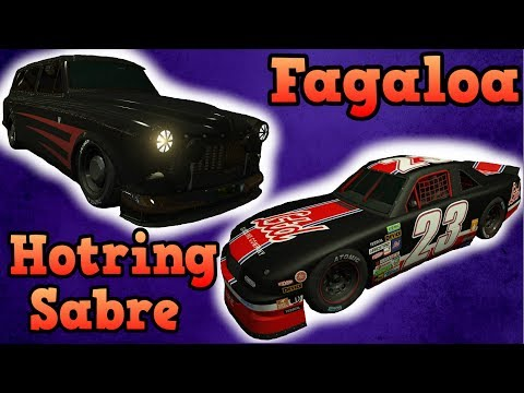 Hotring Sabre and Vulcar Fagaloa review! - GTA Online guides