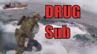 Watch US Coast Guard Board & intercept A Drug Submarine (2019)