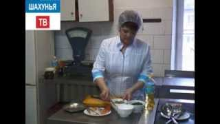 Рецепт рыба с грибами