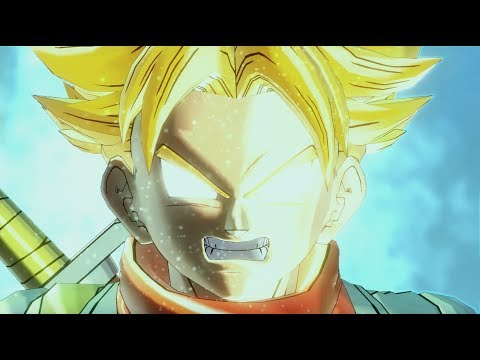 COMPLETE FULL FUTURE TRUNKS vs GOKU BLACK ARC STORY MODE! | Dragon Ball Xenoverse 2