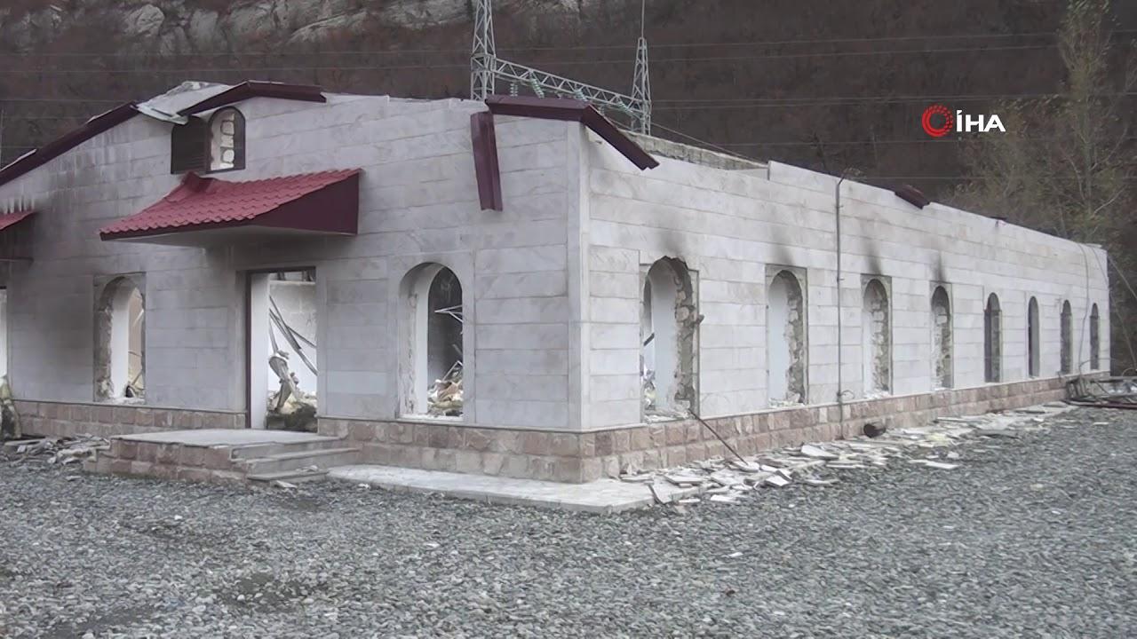 Ermenistan İşgalinden Kurtarılan Kelbecer'e Azerbaycan Bayrağı Dikildi