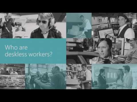 Microsoft Ignite 2016 Empower, engage and connect your deskless workers with their team and company