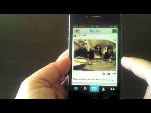 Flickr For IPhone Review