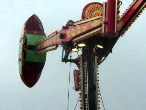 2010 Woodland Mall Carnival, Skerbeck, Loop-O-Plane, Grand Rapids Michigan