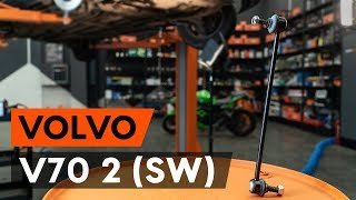 Kaip pakeisti priekiniai stabilizatoriaus traukė VOLVO V70 2 (SW) [AUTODOC PAMOKA]