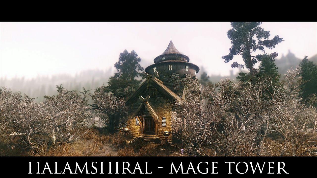 Halamshiral - Mage Tower at Skyrim Nexus - mods and community