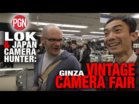 LOK & JAPAN CAMERA HUNTER VISIT THE I.C.S. VINTAGE CAMERA FAIR IN GINZA, JAPAN