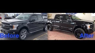 2019 F150 with the Level II package! Before and After!