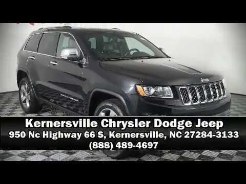Kernersville Chrysler Dodge Jeep >> 2016 Jeep Grand Cherokee Limited At Kernersville Chrysler Dodge Jeep Ram
