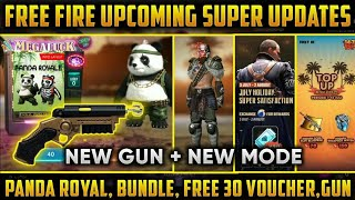 Free Fire || Upcoming new events,new diamond royale bundle,new mode and mystery shop 5.0
