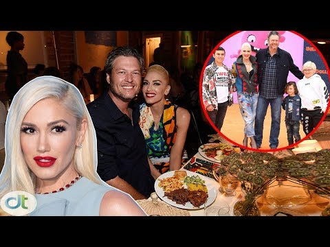 The Tradition That Gwen Stefani Set Out For Her Boys, Calling Blake Shelton 'DAD' Before Every Meal