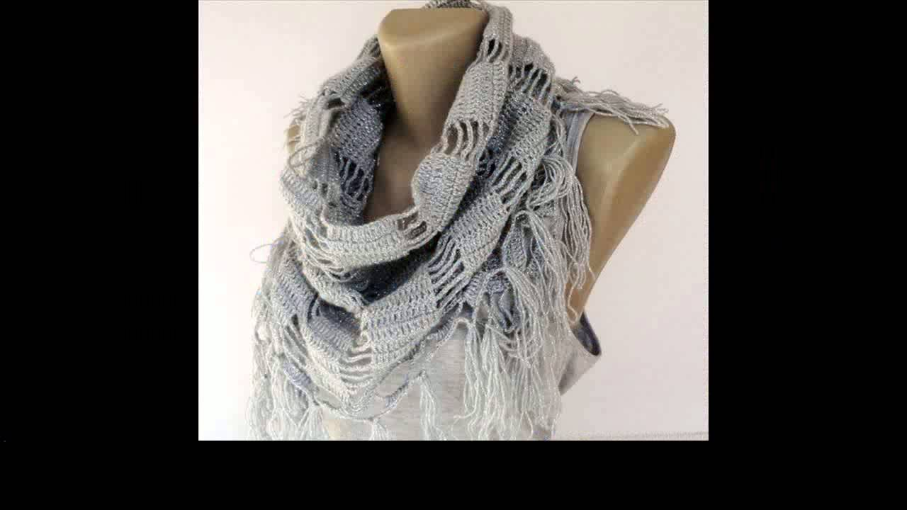 how to add a border to a crochet scarf