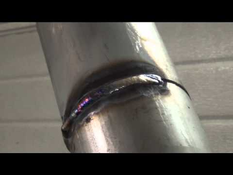 Stick welding stainless 6G