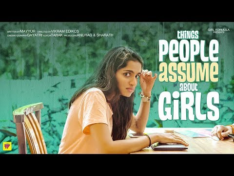 Things People Assume About Girls Ft. Tinder | Girl Formula | ChaiBisket