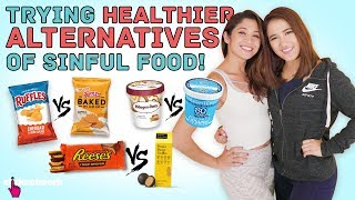 Trying Healthier Alternatives of Sinful Food (ft. Munah Bagharib) - No Sweat: EP25
