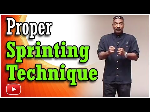 Training for Track and Field - Sprinting Technique Coach Harvey Glance
