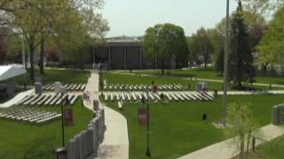 Timelapse of Chair set-up for 2016 Commencement