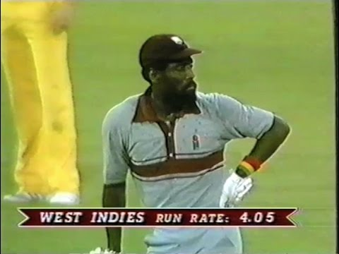 *FIRST FINAL* 1985 Australia v West Indies (World Series Cup ODI cricket @ SCG)