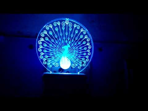 Peacock 3D lamp whatsapp 8610409345 for product enquiry