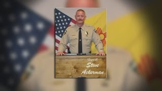 Flags flown at half-staff on Saturday to honor the life of Sheriff Ackerman