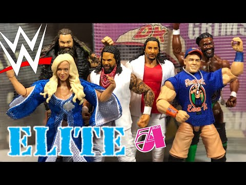 WWE RAGE REVIEW ELITE 54 WRESTLING FIGURES W/ CRAZY FAT TOY COLLECTOR