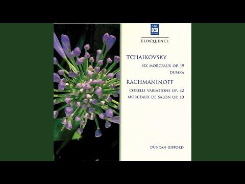 Tchaikovsky: 6 Morceaux, Op.19 - 6. Thème original et variations