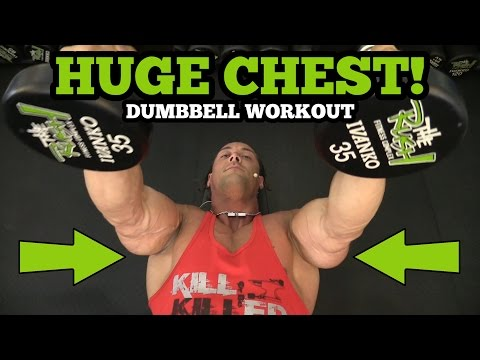 Chest Workouts At The Gym With Dumbbells