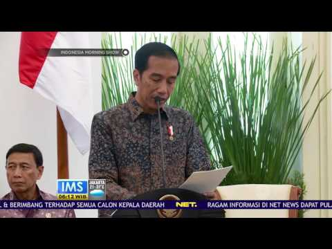 Presiden Jokowi Instruksikan Program Kredit Usaha Rakyat Tahun 2017 Diperluas