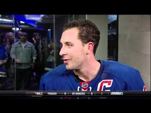 Ryan Callahan Intermission interview - 01/10/2012