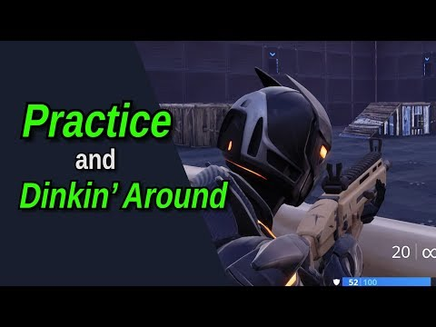Zura And X Practice (and Dink Around) In Fortnite