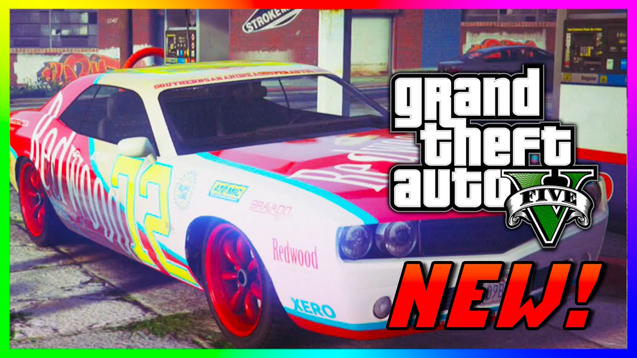 GTA 5 NEW `Redwood Gauntlet ` Car Customization - GTA 5 PS4 Gameplay NEW  Cars! (GTA V)