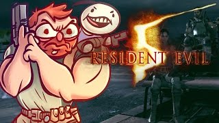 Resident Evil 5 - w/ Cry [Part 5] - Motorcycle Gangs are LOUD